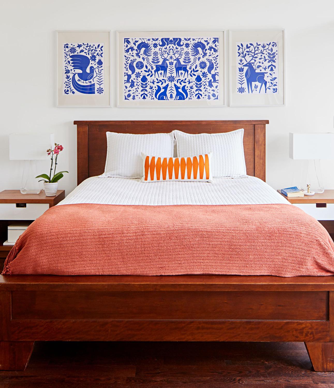 Carpenter bedroom