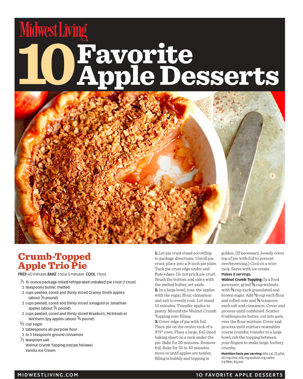 graphic relating to Printable Cookbook called Absolutely free printable apple desserts cookbook Midwest Residing