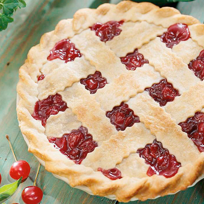 Double-Cherry Supreme Pie