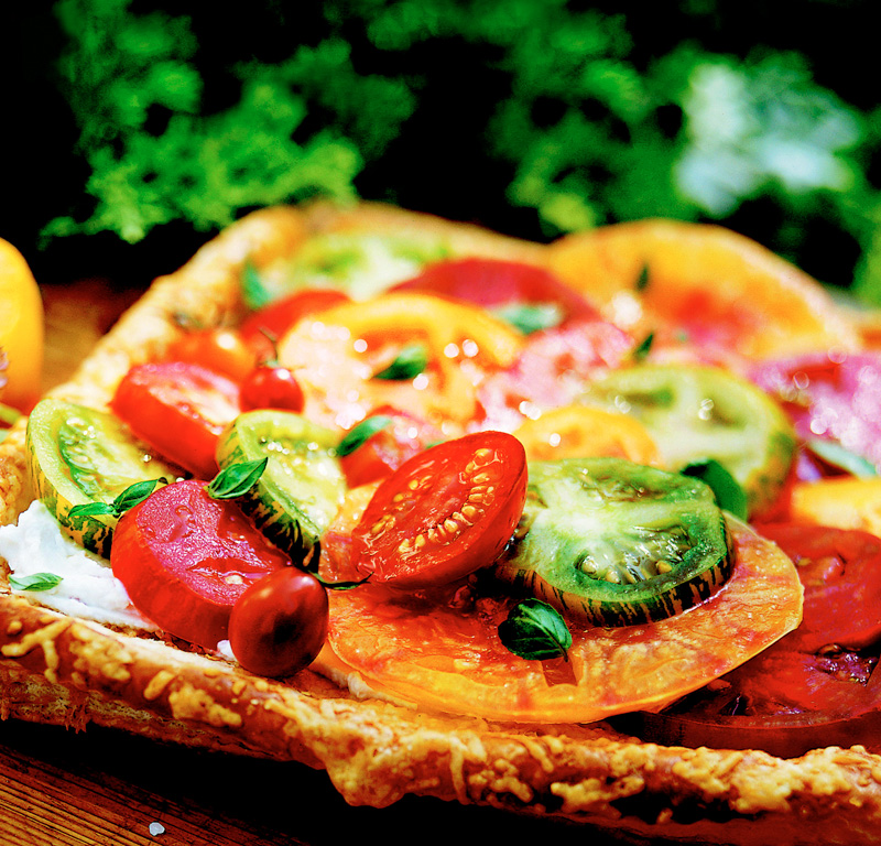 Tomato and Cheese Tart