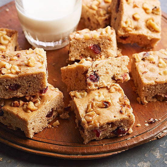 Maple-Walnut Banana Bars
