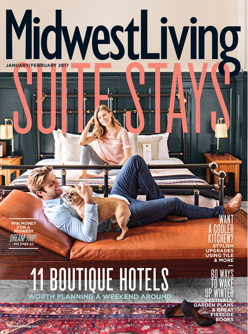 Midwest Living January-February 2017 cover.