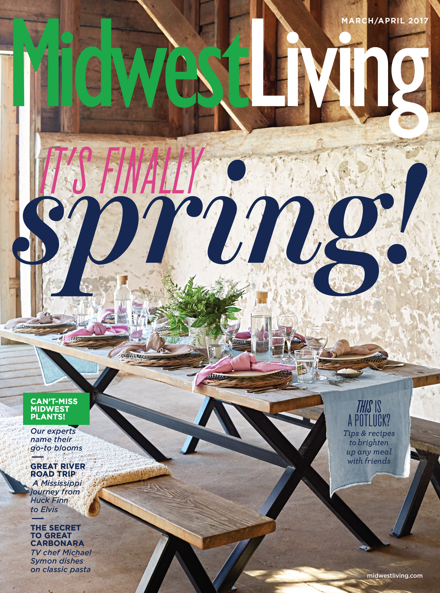 midwest living march april 2017 issue | midwest living