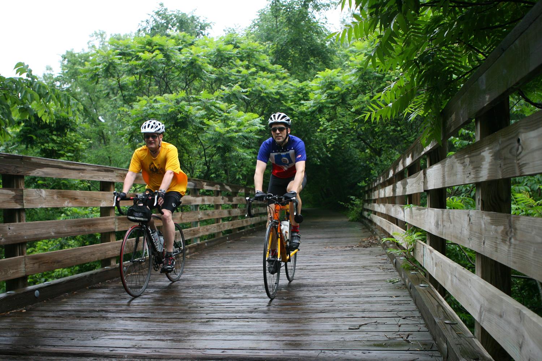 Area bike trails