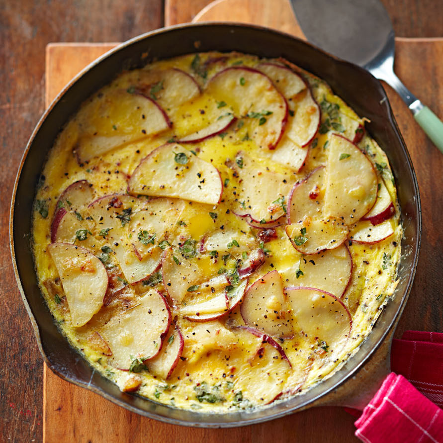 Potato-Thyme Frittata
