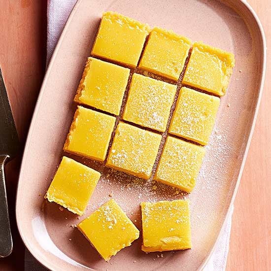 Puckery Lemon Bars