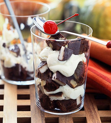 Brownie Parfaits recipe