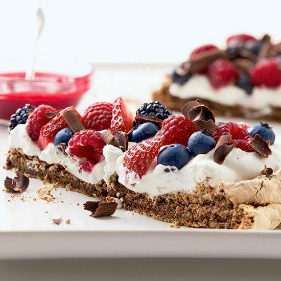 Chocolate-Berry Meringue