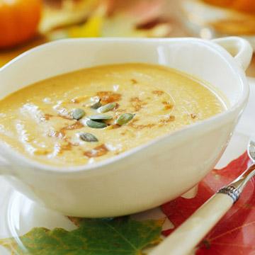 Gingered Pumpkin Soup