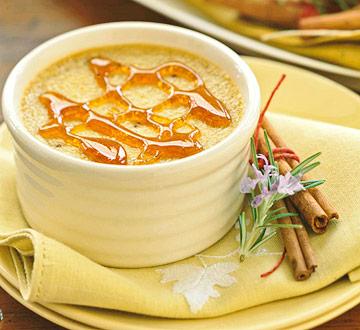 Pumpkin Spice Creme Brulee recipe
