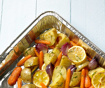 Fire-Roasted Dilled Potato Medley