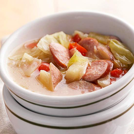 Loaded Bratwurst Stew
