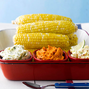 Three Ways to Butter Up Sweet Corn