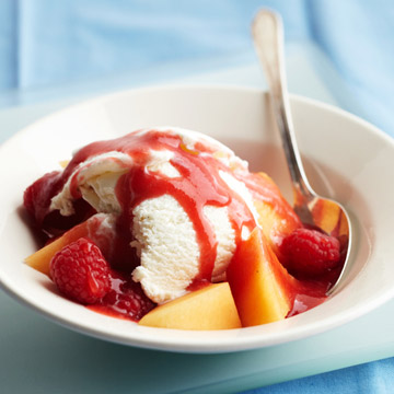 Triple Red Berry Dessert Sauce