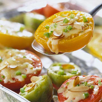 Grilled Tomato Melts