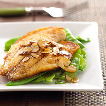 Tilapia with Almond Butter