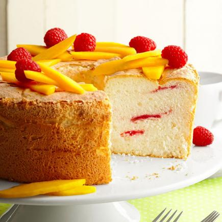 How to use extra egg yolks and egg whites midwest living raspberry swirl angel food cake forumfinder Images