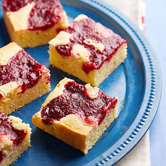 Raspberry Butter Bars