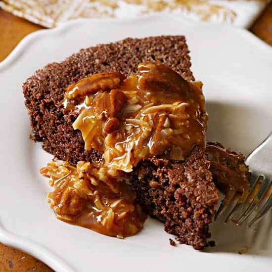 Shortcut German Chocolate Cake