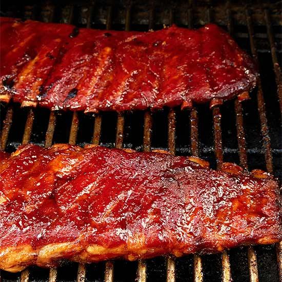 Smoked Barbecue Ribs