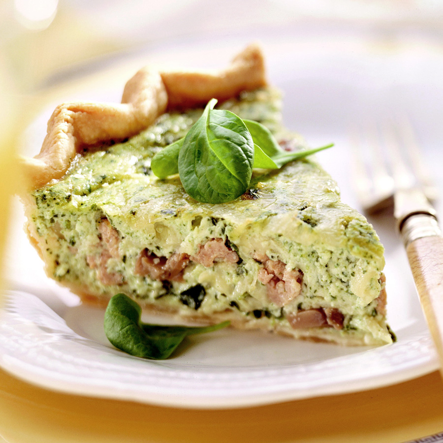 Spinach Quiche a la Goldmoor