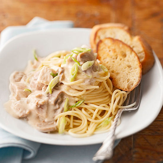 Easy Chicken Tetrazzini