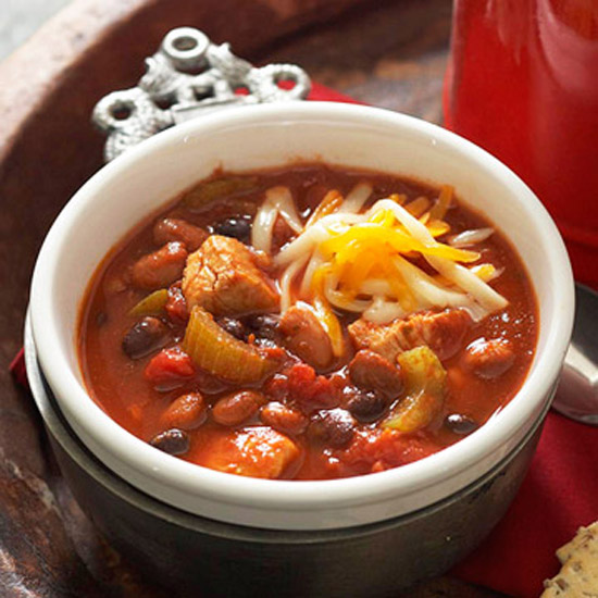 Slow-Cooker Warm-Me-Up Chicken Chili