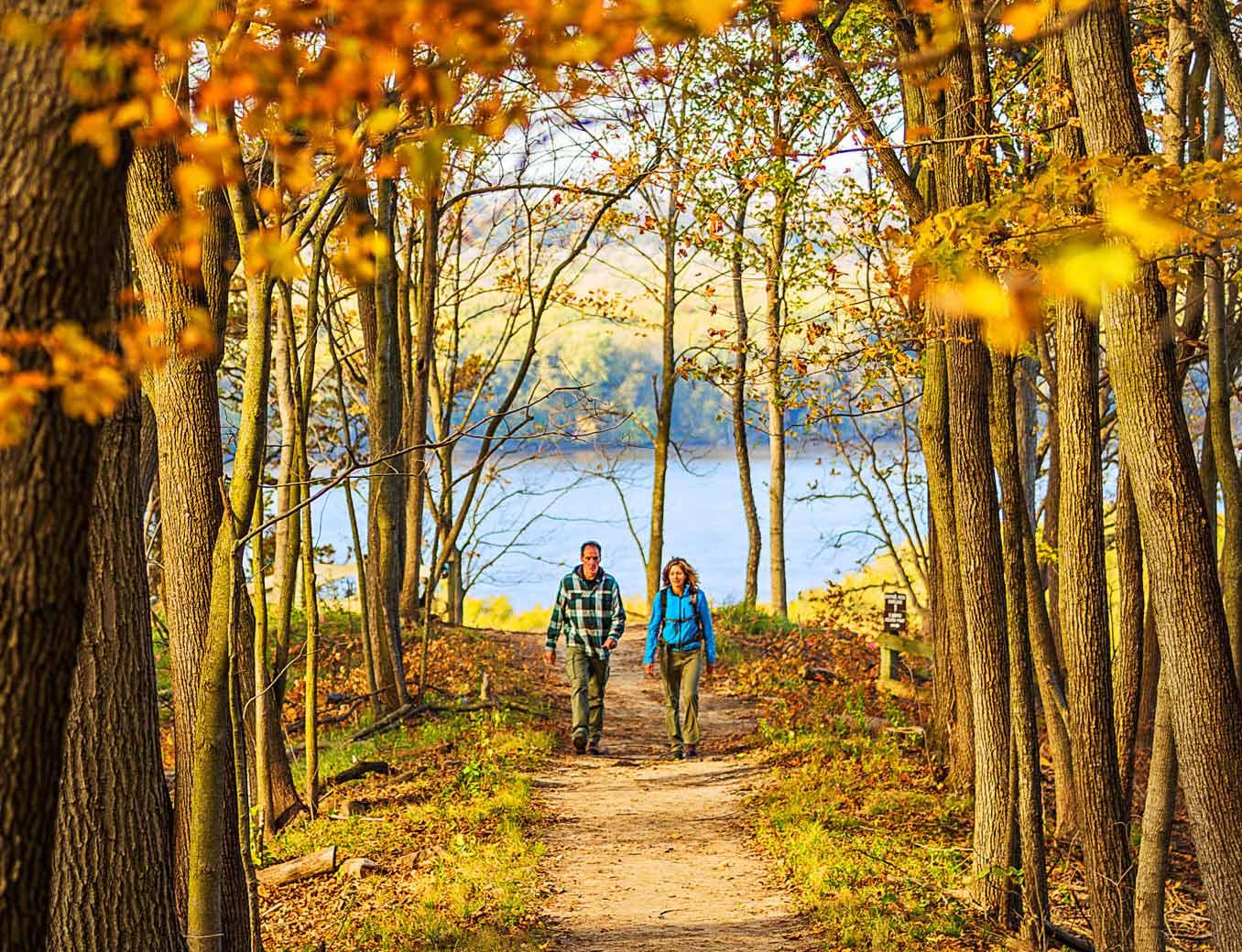 Sentinel Trail at Mississippi Palisades