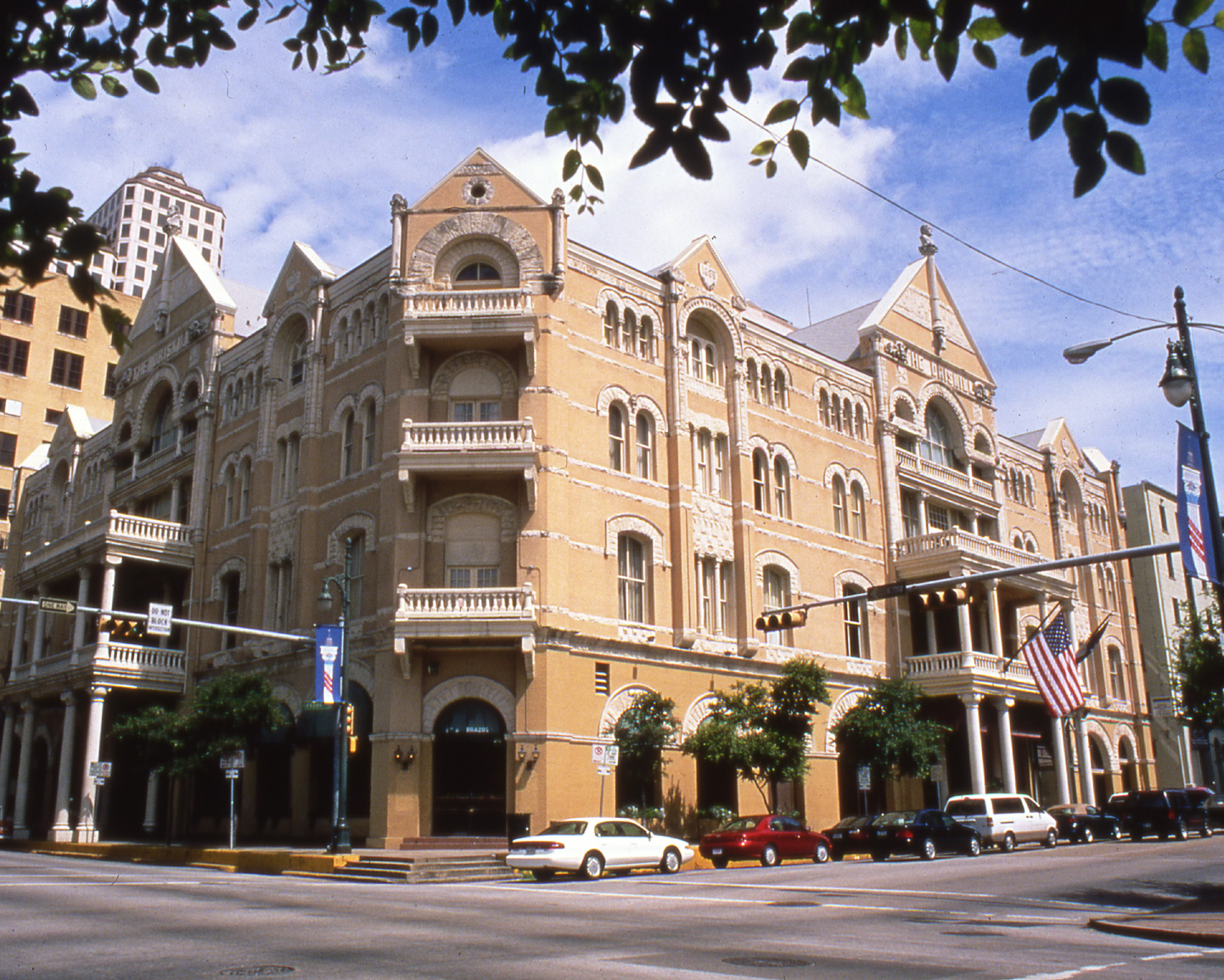 Driskill Hotel. Photo Courtesy of Austin Convention and Visitors Bureau.