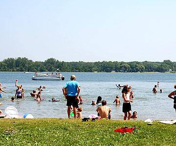 Lake Carlos State Park, Minnesota