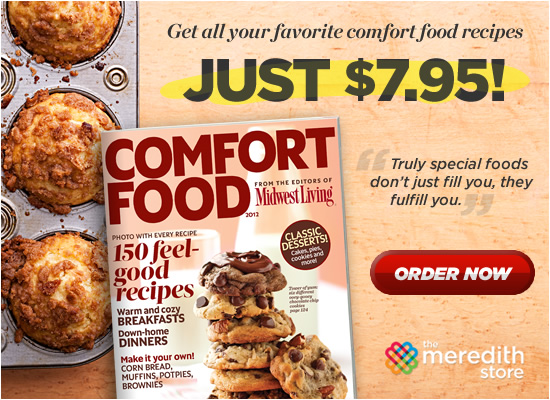 Midwest Living Comfort Food 2012 Magazine