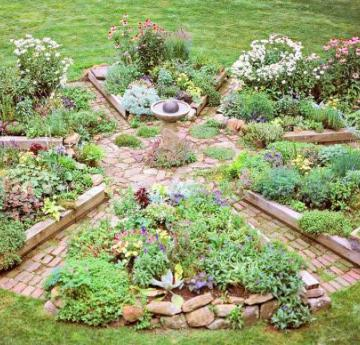 Garden ideas inspiration midwest living for How to landscape a garden