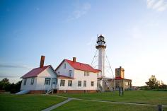 The Great Lakes Shipwreck Museum in Whitefish Point.