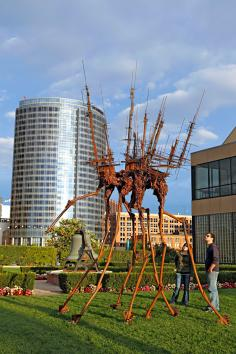 Possesses, a sculpture by Jason Graham at ArtPrize