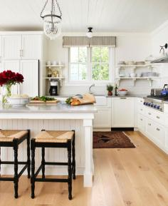 Farmhouse-style kitchen