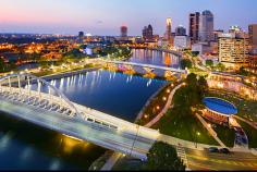 Downtown's Scioto Mile skyline. Photo courtesy of Ohio Tourism