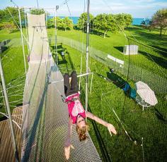 Trapeze school in Chicago