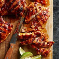 Chipotle-Maple Chicken Thighs