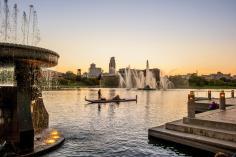 Heartland of America Park. Photo courtesy of Omaha Convention and Visitors Bureau.
