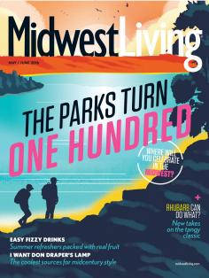 May June Midwest Living 2017 cover.
