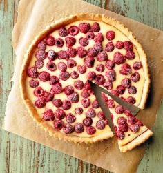Raspberry Cream Tart
