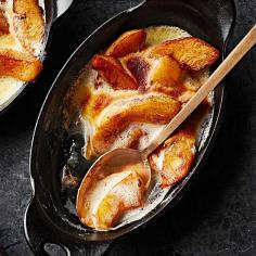 Vanilla Apple Gratin