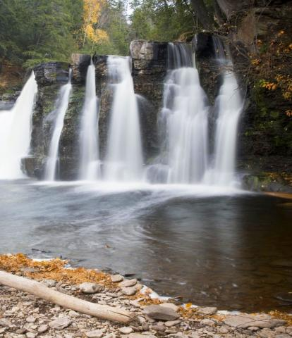 Waterfall Beauty On Michigan S Upper Peninsula Midwest