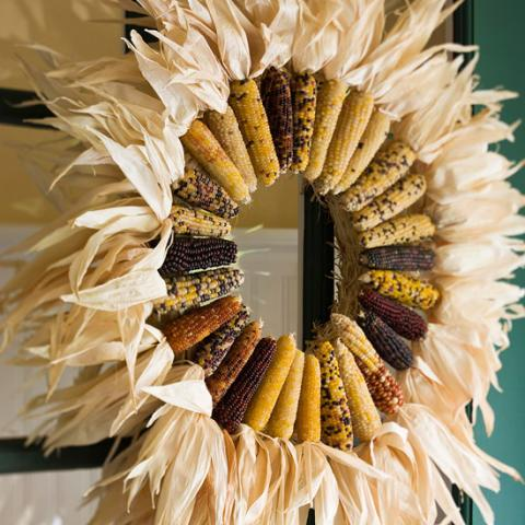 18 Dried Corn Projects For Fall Decorating Midwest Living