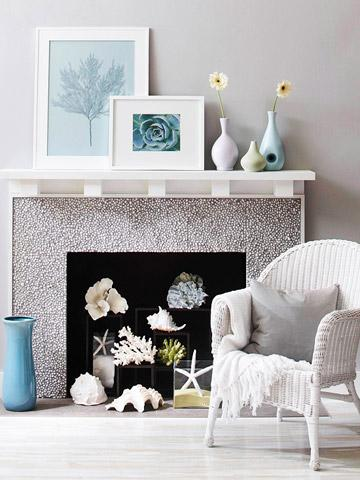 4 Ideas for Fireplace Decorating