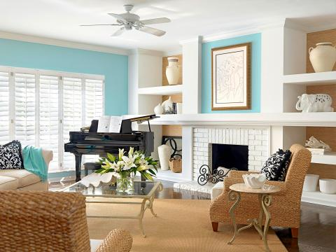 Decorating With Blues Midwest Living