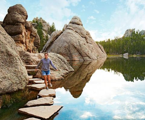 Great state park stays south dakota 39 s custer state park for Cabine black hills south dakota