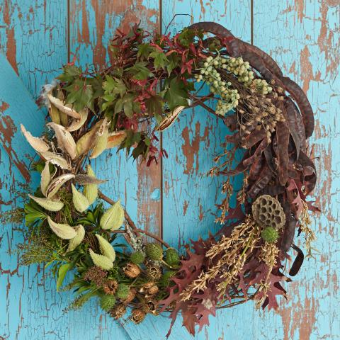 Create Fabulous Fall Wreaths