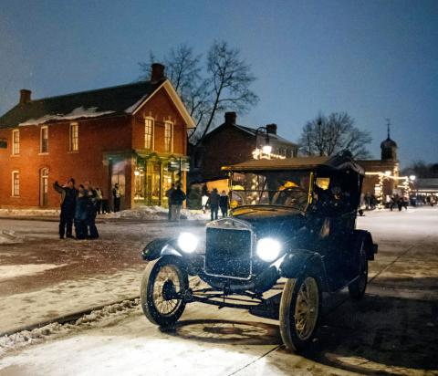 Ford Of Greenfield >> Holiday Nights at Greenfield Village | Midwest Living