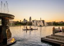 Heartland of America Park. Photo courtesy of Omaha Convention and Visitors Bureau.